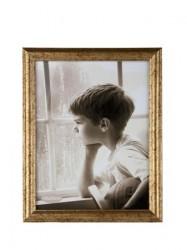 KJ Collection Fotoramme - PP - Glas - Guld - Antik - L 24,0cm - B 18,0cm - Stk.