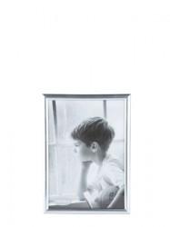 KJ Collection Fotoramme - PP - Glas - Sølv - L 18,0cm - B 13,0cm - Stk.