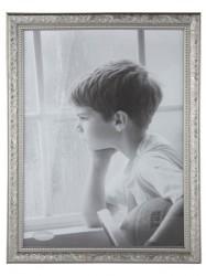 KJ Collection Fotoramme - PP - Glas - Sølv - L 40,0cm - B 30,0cm - Stk.