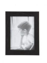 KJ Collection Fotoramme - PP - Glas - Sort - L 13,0cm - B 18,0cm - Stk.
