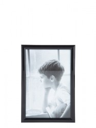KJ Collection Fotoramme - PP - Glas - Sort - L 15,0cm - B 10,0cm - Stk.