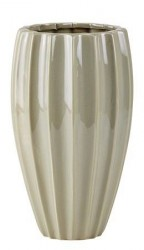 KJ Collection Vase - Dolomite - Ocean grøn - D 14,0cm - H 24,0cm - Stk.