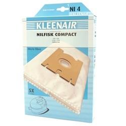 Kleenair Støvsugerpose Nilfisk Compact NI4