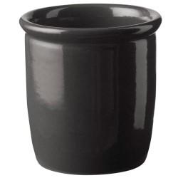 Knabstrup Keramik syltekrukke - Antracitgrå - 0,5 l
