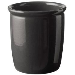 Knabstrup Keramik syltekrukke - Antracitgrå - 2 l