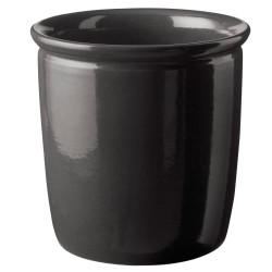 Knabstrup Keramik syltekrukke - Antracitgrå - 4 l