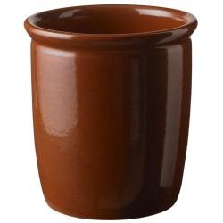 Knabstrup Keramik syltekrukke - Brun - 2 l