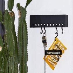 Knagerække So-Hooked Wall Rack 30 cm - sort