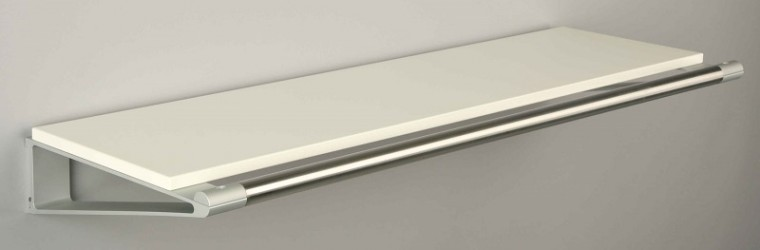 KNAX Hattehylde - 40 cm - Hvid