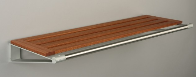 KNAX Hattehylde - 40 cm - Mahogni
