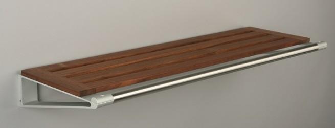 KNAX Hattehylde - 40 cm - Valnød