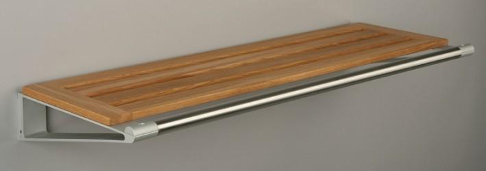 KNAX Hattehylde - 60 cm - Egetræ