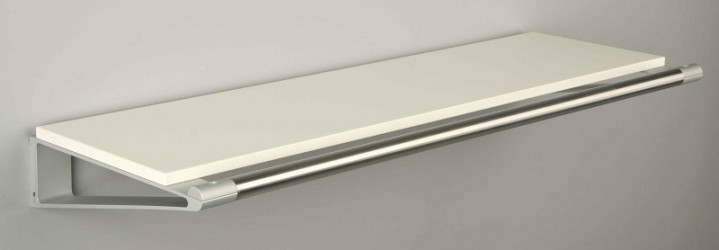 KNAX Hattehylde - 60 cm - Hvid
