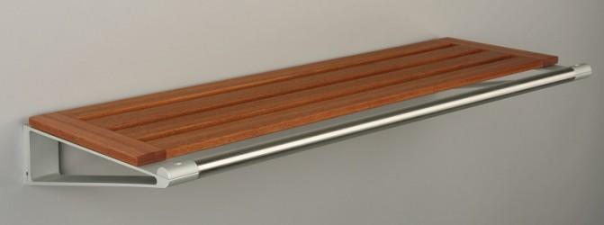 KNAX Hattehylde - 60 cm - Mahogni