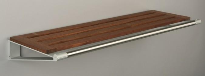 KNAX Hattehylde - 60 cm - Valnød