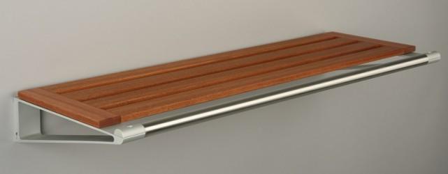 KNAX Hattehylde - 80 cm - Mahogni