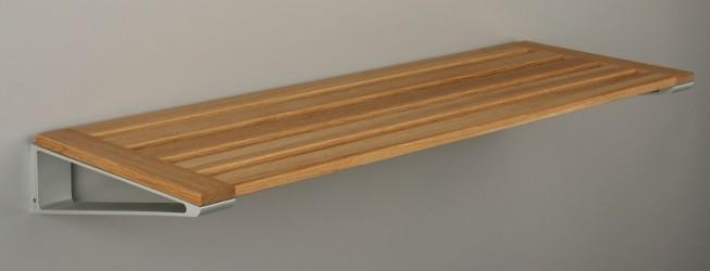 KNAX Skohylde - 60 cm - Egetræ