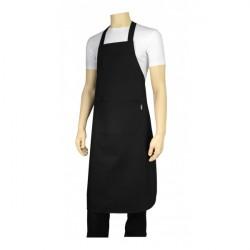 Kokke forklæde m. smæk, sort. Chaud Devant