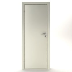 Kompakt dør glat - M7x20