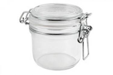 Konserveringsgl 0,2L.Rund Glas