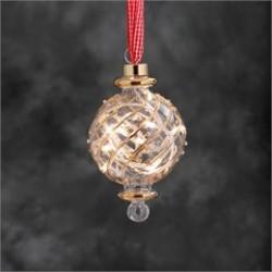 Konstsmide glaskugle med LED lys