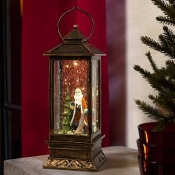 Konstsmide lanterne med julemand