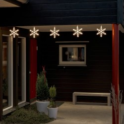 Konstsmide LED-lyskæde med snefnug
