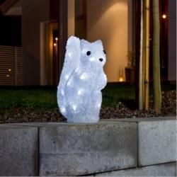 Konstsmide lysfigur - Egern - H 27 cm