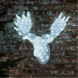 Konstsmide lysfigur - Elghoved - H 65 cm