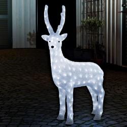 Konstsmide lysfigur - Rensdyr - H 105 cm