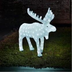 Konstsmide lysfigur - Rensdyr - H 65 cm