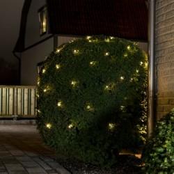 Konstsmide lysnet med 64 LED-lys