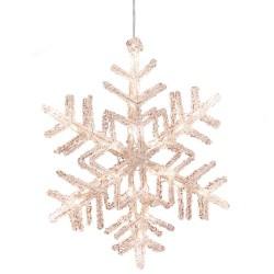 Konstsmide snefnug med LED-lys