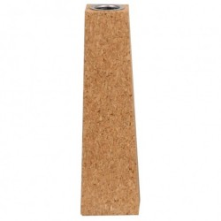 Kork lysestage (18 cm)
