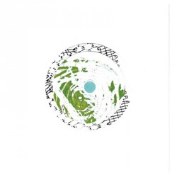 Kort & Plakat Grøn Cirkel Kort