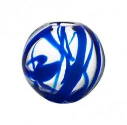 Kosta Boda Globe Blå Vase