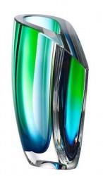 Kosta Boda Mirage Grøn/Blå Vase 21 cm