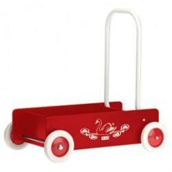 KREA gåvogn - Rød