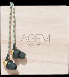 Kreafunk aGem høretelefoner i army