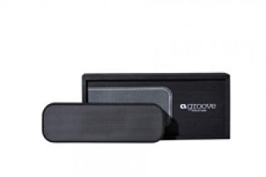 Kreafunk aGroove højtaler i Black edition - Sort med Gun metal front