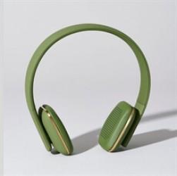 Kreafunk aHead høretelefoner i armygrøn