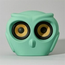 Kreafunk aOwl højtaler i grøn