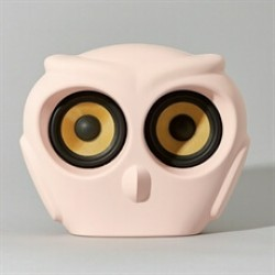 Kreafunk aOwl højtaler i rosa