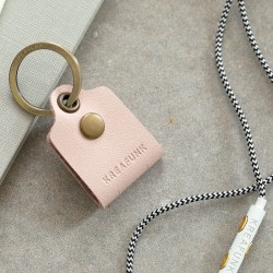 Kreafunk CTAG Leather Cable Tag Nude