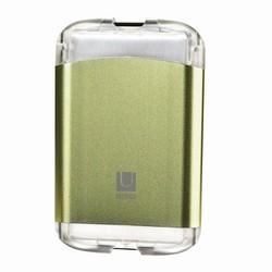Kreditkortholder - metallic grøn