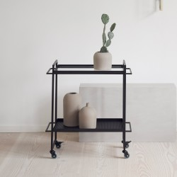 Kristina Dam Studio - Bauhaus Trolley - Sort