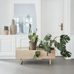 Kristina Dam Studio - Botanic Storage - Eg og messing