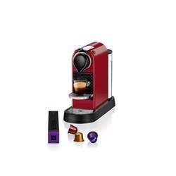 Krups Citiz Freestanding Espresso machine 1L Red