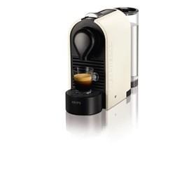 Krups Nespresso U XN 2501 - coffee machine - 19 bar - pure cream