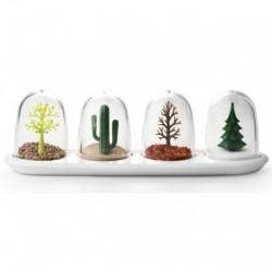 Krydderibeholdere (four seasons)